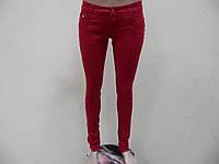 Джинсы цветные женские F006-4