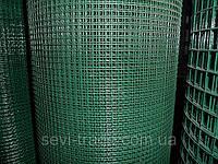 Сетка сварная ПВХ 100*50*2,5*1500 (45 м.кв.) (30м.)