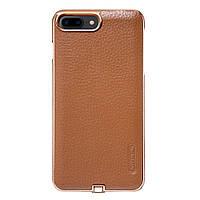 Чехол накладка для беспроводной зарядки Qi Nillkin N-JARL для Apple iPhone 7 Plus 5.5 коричневый