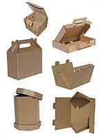 Упаковка из гофрокартона сложной высечки