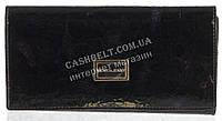 Элитный оригинальный женский лаковый кожаный кошелек высокого качества MORO art. MR-3107-A черный, фото 1