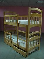 """Кровать двухъярусная """"Карина Люкс"""". Комплекты с матрасами Эко 41"""