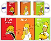 Кружка чашка Симсоны Simpsons