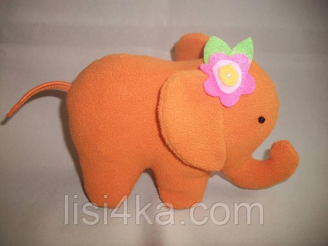 Интерьерный текстильный слоник
