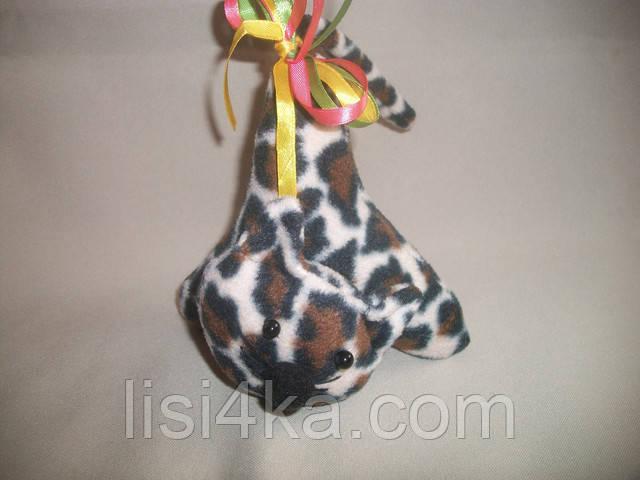Интерьерный текстильный котенок-игольница