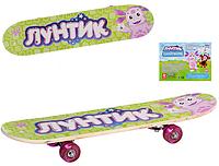 Скейт Лунтик Салатовый LT 0028 HN