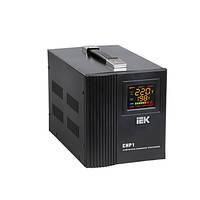 Стабилизатор напряжения Home  1,5 кВА (СНР1-0-1,5) релейный переносной ИЭК