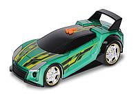 Супер гонщик Quick N Sik со светом и звуком 25 см Hot Wheels (90533)