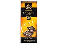 Черный шоколад J.D.Gross Edelschokolade aus Original Arriba Ecuador Edelcacao 70%- Orange
