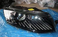 Фары передние ксеноновые Skoda Octavia A7