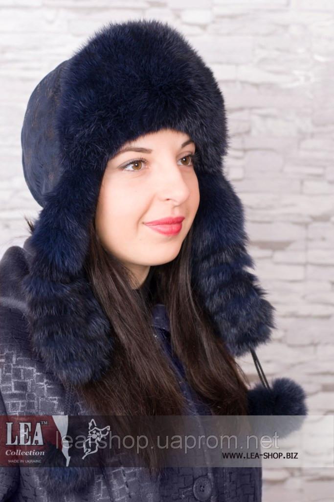 Женская меховая шапка (кролик первый сорт)