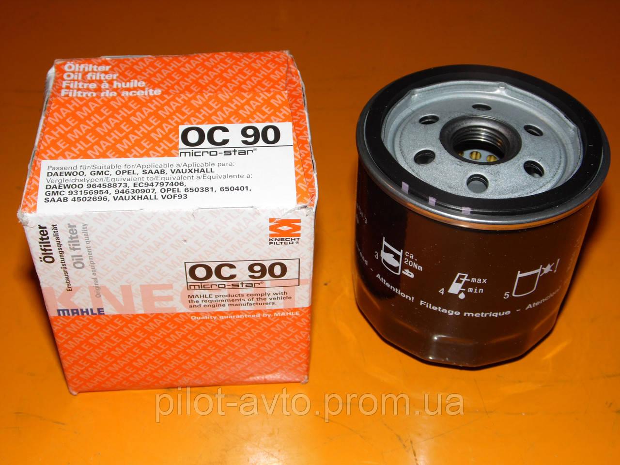 Knecht OC90 Filtre /à huile