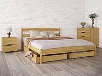 """Кровать """"Лика без изножья с ящиками""""  ТМ Олимп"""