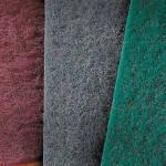 MIRKA MIRLON  Скотч-брайт (Шлифовальный войлок) красный 152 x 299 мм P360
