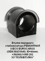 Втулка стабілізатора переднього РЕМОНТНА поліуретан IVECO EUROCARGO ID=44mm OEM:98431946