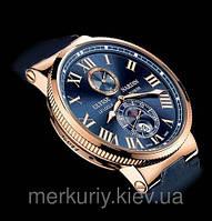 Качество! Мужские наручные кварцевые классические стильные  часы Ulysse Nardin (Улис Нардин )