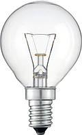 Лампа накаливания philips e14 40w 230v p45 cl 1ct/10x10f stan 926000006511