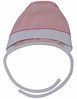 Чепчик для девочки:цвет -розовый,размер-47,18 мес
