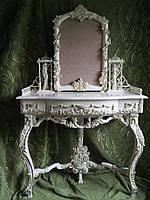 Резная мебель, консольный столик для спален, гостинных, консоли