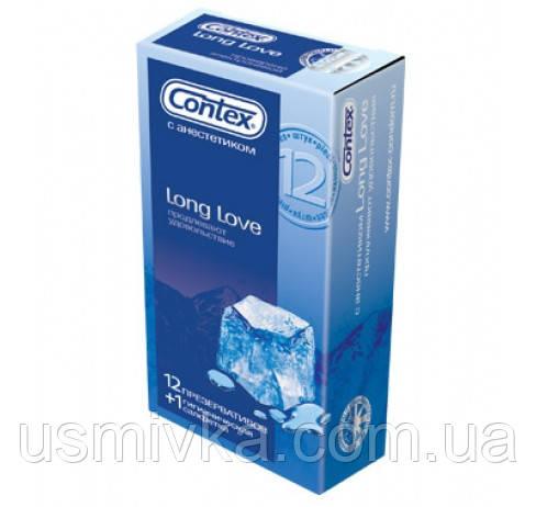 Презервативы Contex Long love 12 шт. SX7110025