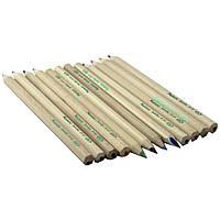 """Карандаши для малышей цветные SAT """"Nature"""", 6 шт. (не окрашеные, толстые карандаши)"""