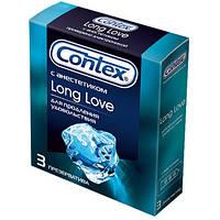 Презервативы Contex Long Love3 шт. SX7110006