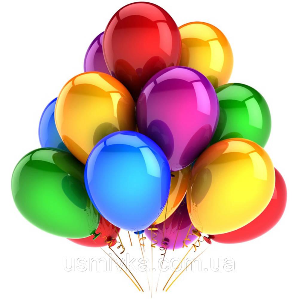 Шарики надувные цветные перламутр.12 дюмов (2,8 грамм) 100 шт.BL28-100 SQ1026200
