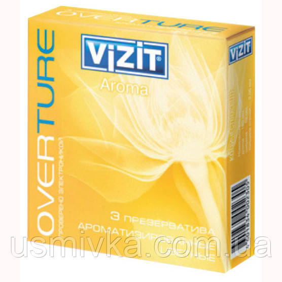 Презервативы Vizit Aroma Color 3 шт. SX7110018
