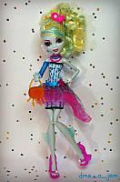 Кукла Школа Монстров Лагуна Блю Смертельно прекрасный горошек Монстер Хай (Monster High Dot Dead Gorgeous Lago