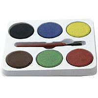 """Краски для маленьких художников SAT"""" Water colors"""" 6 цветов."""