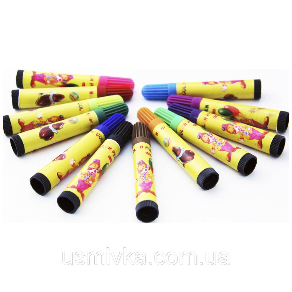 """Фломастеры для творчества SAT """"86P Colors pen"""" FK102620"""