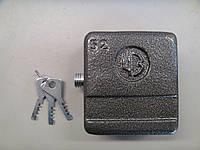 Дверной замок навесной ЧАЗ ВС2-10 квадрат