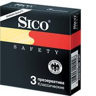 Презервативы Sico safety классические 3 шт.