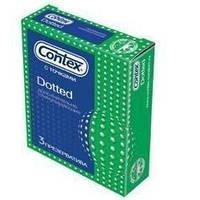 Презервативы Contex Dotted 3 шт. SX7110008