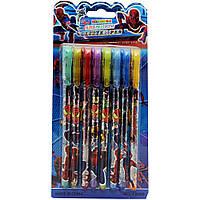 Ручки гелевые с блестками ''Disney'' на блистере 8 цветов