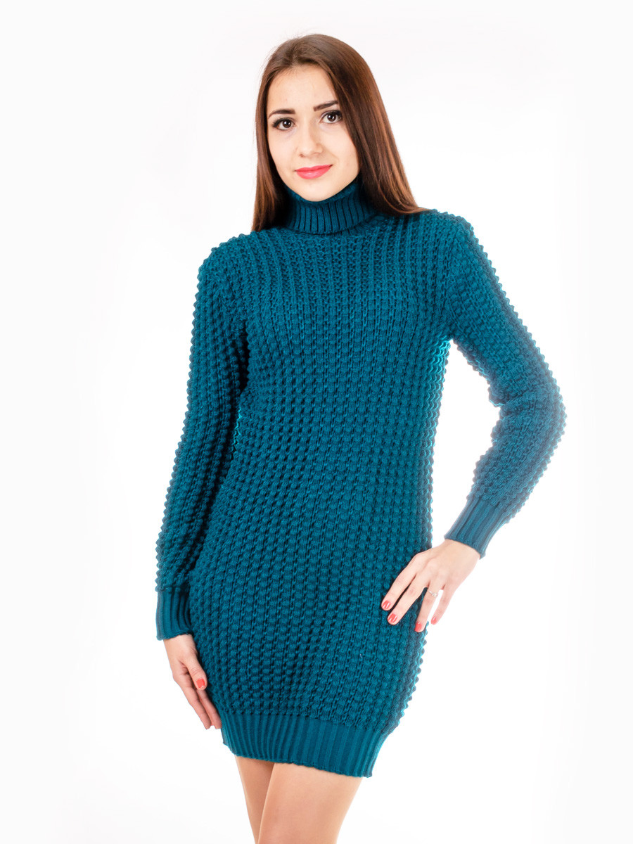 Женское вязаное платье 1ТV