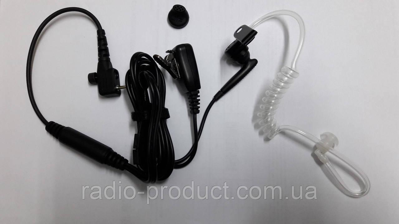 Гарнитура KH02-H4, 2-х пров. к серии TC320 (аналог EAM12, прозр. звуковод)
