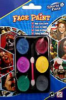 Грим для лица 6 шт (краски перламутровые)