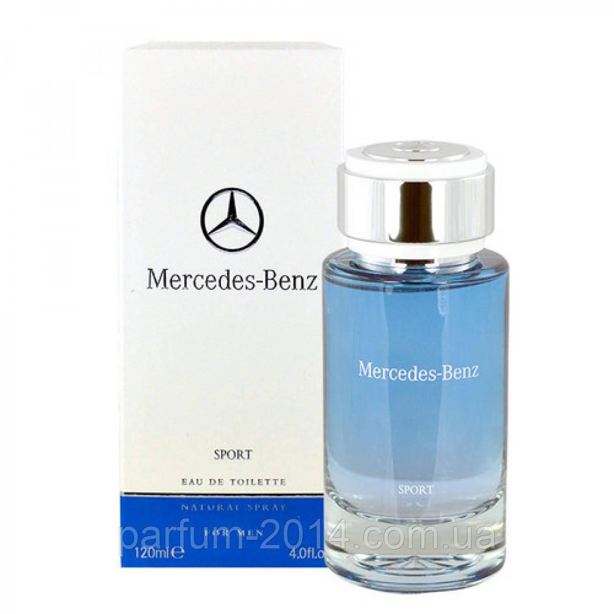 Мужская туалетная вода Mercedes-Benz Mercedes Benz Sport 120 ml (реплика)