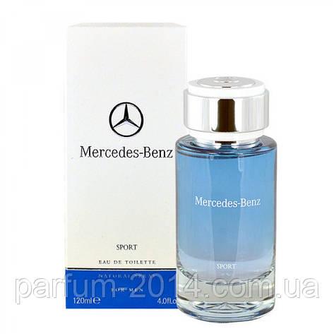 Мужская туалетная вода Mercedes-Benz Mercedes Benz Sport 120 ml (реплика), фото 2