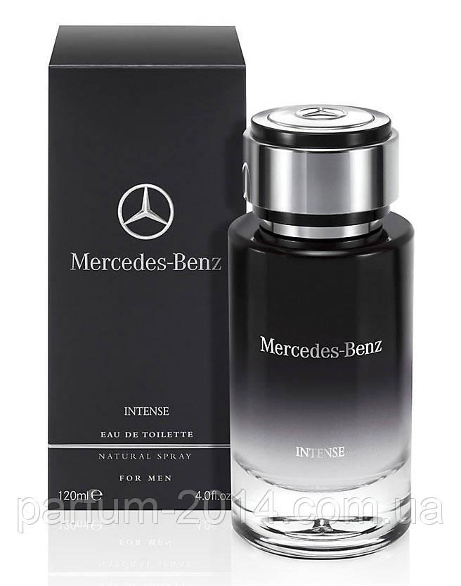 Мужская туалетная вода Mercedes-Benz For Men Intense 120 ml (реплика)