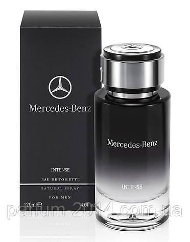 Мужская туалетная вода Mercedes-Benz For Men Intense 120 ml (реплика), фото 2