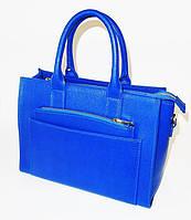 Деловая сумка синего цвета AFFARI от Becato It