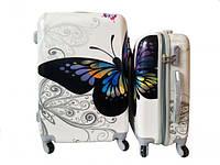 Чемодан - Комплект из 3-х - Бабочка цветная, фото 1