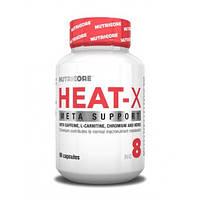Жиросжигатели, Термогеники Nutricore Heat-X 90caps