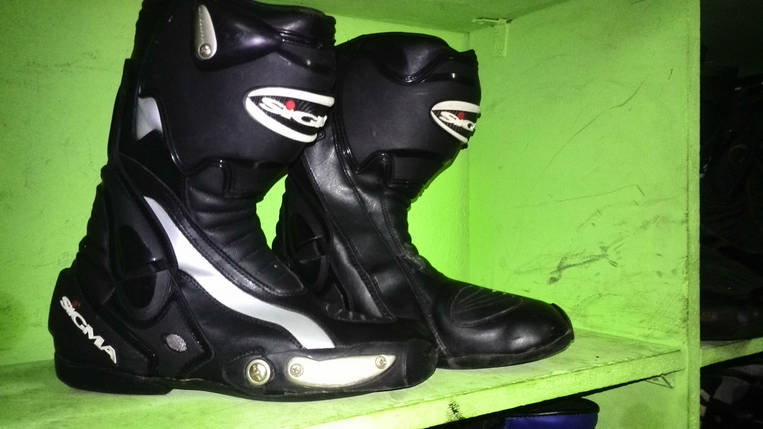 Мото ботинки бу Sigma, фото 2