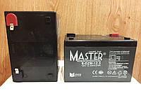 Аккумулятор 12V 12Ah Master 6DZM12.5