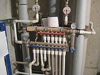 Разводка труб (отопление, водоснабжение, канализация)