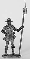 Оловянный солдатик. Английский ополченец времен середины Столетней войны.