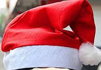 Новогодняя флисовая шапка (головной убор)